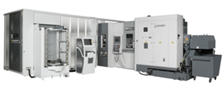 Okuma MB5000H 12-Station Flexible Manufacturing System